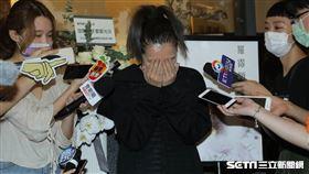 Makiyo爆哭憶羅霈穎。(圖/記者林芷卉攝影)