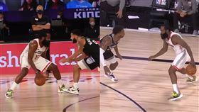 NBA/變態運球!大鬍子戲耍對位者 NBA,休士頓火箭,James Harden,運球,沙加緬度國王 翻攝自臉書Bleacher Report