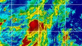 米克拉颱風動態 圖翻攝自CIMSS