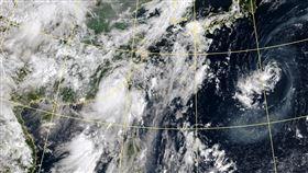 颱風動態 圖翻攝自氣象局