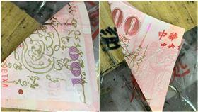符咒,佰鈔,詛咒,鈔票,財神爺,一百元,錢母,泰國 圖/翻攝自爆料公社公開版