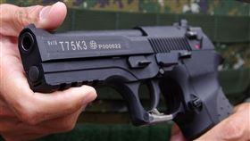 陸軍,手槍,國造,T75K3手槍 圖/記者邱榮吉攝影