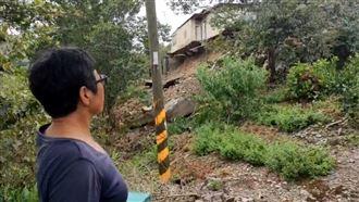 颱風掠過 太麻里民宅地基被豪雨掏空