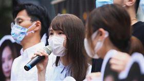 香港警方前往前香港眾志成員周庭住所搜查,並依涉嫌勾結外國勢力、違反《港版國安法》將其拘捕(圖/翻攝自周庭 Agnes Chow Ting)