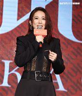 高宇蓁 J.KAO品牌二週年。(記者邱榮吉/攝影)