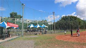 八通關盃棒球賽玉里登場2020年八通關盃棒球邀請賽11日開幕,接連3天在玉里高中棒球場舉行。中央社記者李先鳳攝 109年8月12日