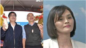 陳其邁,韓國瑜,李眉蓁,組合圖資料照