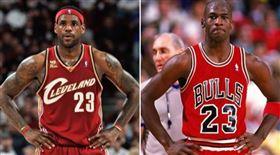 NBA/詹皇史上最佳?KD嗤之以鼻 NBA,史上最佳,GOAT,Michael Jordan,LeBron James,Kevin Durant 翻攝自推特
