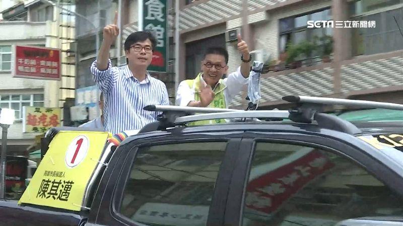 補選倒數2天攻略 陳其邁車隊南北掃