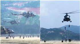 登陸,佔領,解放軍,演習,解放軍 (圖/翻攝自中國軍視網)