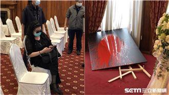 鄭惠中潑漆李登輝肖像:不滿他搞台獨
