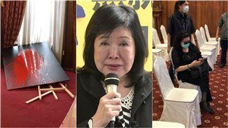 鄭惠中潑漆李登輝肖像…恐處5年徒刑