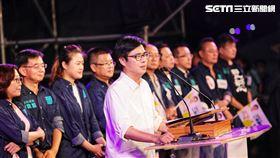 陳其邁選前之夜「高雄大邁進」造勢晚會。