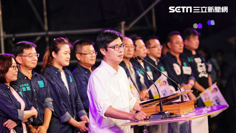 陳其邁:我會用盡力氣完成高雄人夢想