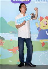 趙樹海童謠集中化健康購趣味平台發表會。(記者邱榮吉/攝影)