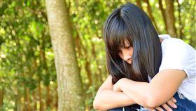 女孩,哭(翻攝自 Pixabay)