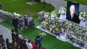 李登輝追思會場16日結束開放,總統府:逾4萬人前往悼念(圖/總統府提供)