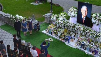 李登輝追思會結束開放…逾4萬人悼念