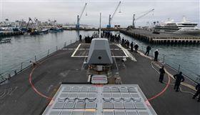中國遭爆在厄瓜多違法捕魚 美軍出動「飛彈驅逐艦」巡航(圖/翻攝自U.S. Naval Forces Southern Command & U.S. 4th Fleet臉書)