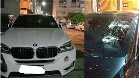彰化,鹿港,砸車,BMW(圖/翻攝我愛鹿港小鎮)
