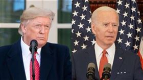 拜登,川普,美國總統(組合圖/翻攝自美國白宮臉書、拜登臉書)