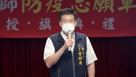 台中醫聯合成立「防疫志願軍大隊」、台中衛生局長曾梓展/中市府提供