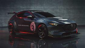 ▲Mazda 3 TCR賽車(圖/翻攝自Mazda官網)