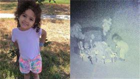墓園拍到小女孩散步!媽淚:2歲女兒回來了…墓碑旁看玩具(圖/翻攝自Saundra Gonzales臉書)