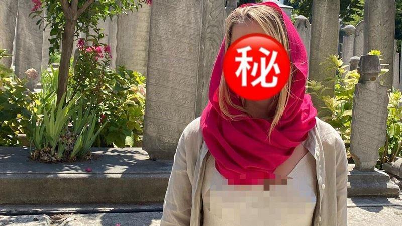 在清真寺激凸!性感女星「無罩」挨轟