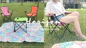▲野外露營有許多細節需要注意,基本的摺疊桌、摺疊椅不要忘記了。(圖/業者提供)