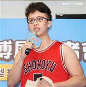 孫安佐出席2020線上漫博展。(記者邱榮吉/攝影)