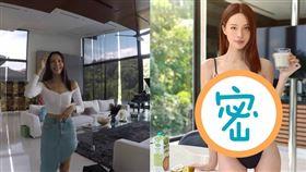 「鋼琴女神」李元玲時常在社群平台秀出性感辣照與私家豪宅。(圖/翻攝自李元玲IG)