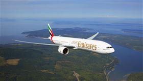 阿聯酋航空復飛全球近五成航點。(圖/阿聯酋提供)