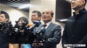 國民黨立委江啟臣拜會前立法院長王金平。(圖/記者林恩如攝影)