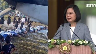 中國人肉地毯扯台灣 外交部重砲反擊
