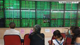 台股 股市 大盤 綠盤 (圖/記者戴玉翔攝影)
