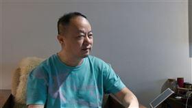 畫家白魚,林伯禧(記者林宥村攝影)