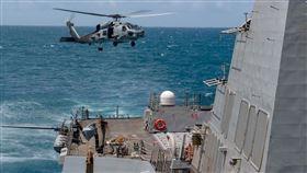 ▲馬斯汀號(DDG 89)進行例行操作. 馬斯汀已部署到美國第7艦隊行動區, 以支援印度太平洋地區的安全與穩定。(圖/翻攝U.S. Pacific Fleet臉書)