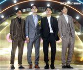 陳希藤、宋亞倫、Cheng、邱昊奇出席微風信義榮耀再現之夜。(記者邱榮吉/攝影)