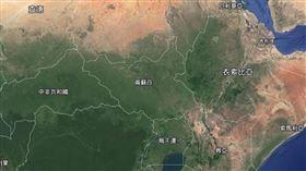 南蘇丹(圖/翻攝自Google Map)