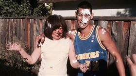 林書豪生日貼出與母親的照片。(圖/翻攝自林書豪微博)