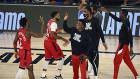NBA,暴龍替補得100分破紀錄。(圖/美聯社/達志影像)