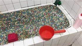 洗澡,浴室,磁磚,浴缸/靈異公社