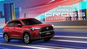 ▲Toyota Corolla Cross(圖/翻攝自Toyota官網)