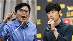 黃國昌、曾玟學(圖/資料照、翻攝自曾玟學臉書)