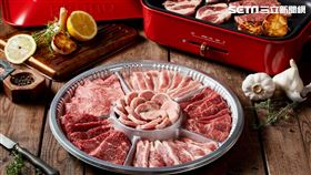 RÒU By T-HAM推出多種頂級烤肉組合,讓消費者在家卻宛如置身於高級燒肉店(圖/台畜提供)