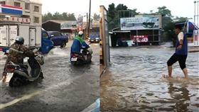 台南,高雄,豪大雨,淹水