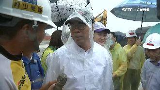 大雨取消北上 陳其邁上午連跑6行程