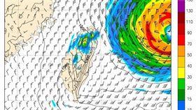 氣象局局長鄭明典憂心表示「下星期有個大颱風」。(圖/翻攝自鄭明典臉書)
