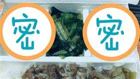 貢丸,配菜,便當,外送,滷肉(翻攝自 爆怨公社)